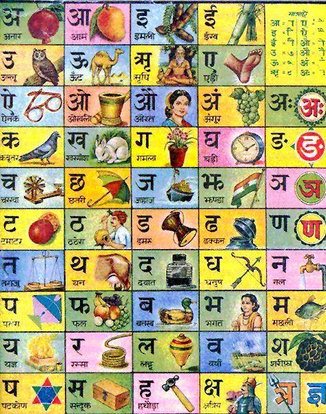 Indien...vaut mieux que 2 tu l'auras... / Indian alphabet poster.