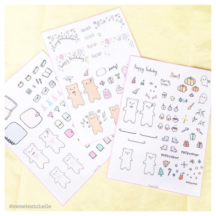 The collection Which is your favourite? #plannerstickers