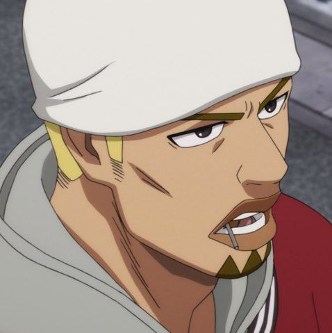 ONE PUNCH MAN, Hero, Golden Ball (黄金ボール, Ōgon Bōru) age 28 years old, is an A-Class, rank 26. He was partnered with Spring Mustache to investigate the Kombu Infinity rumor in Z-City, Episode 6 http://onepunchman.wikia.com/wiki/Golden_Ball