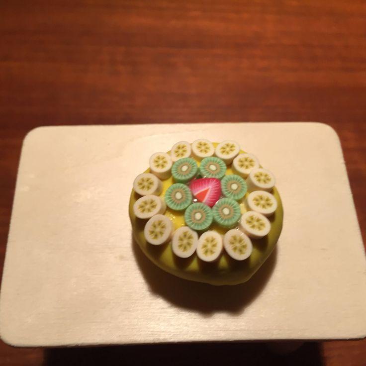 triple fruit cake by CarikubeCafe on Etsy