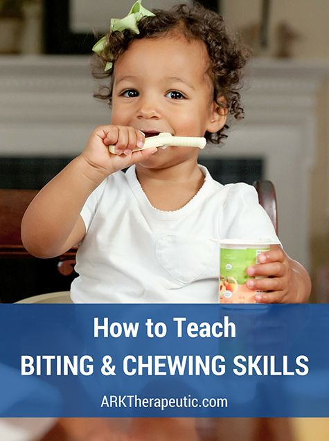 For infants, learning how to bite and chew is a crucial stage of feeding development. At approximately 5-6 months of age, babies begin using their fingers and teethers for oral exploration using a…