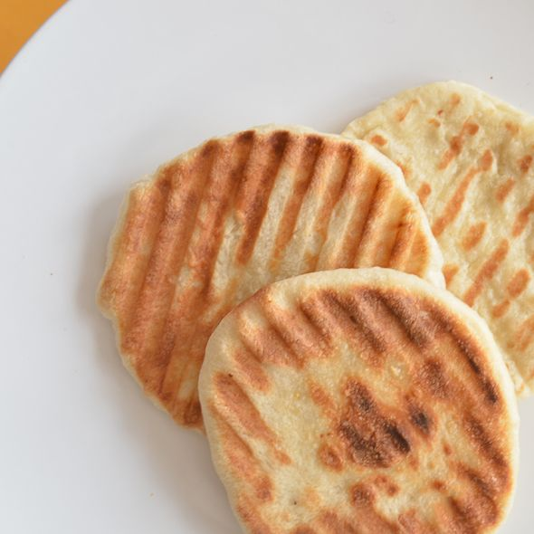 Easy DIY Naan made with Rhodes rolls(frozen dough) - SO EXCITED!