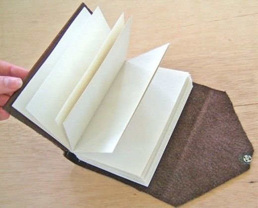 529 best book binding paper projects images on pinterest book how to make a leather journal book binding tutorial solutioingenieria Choice Image