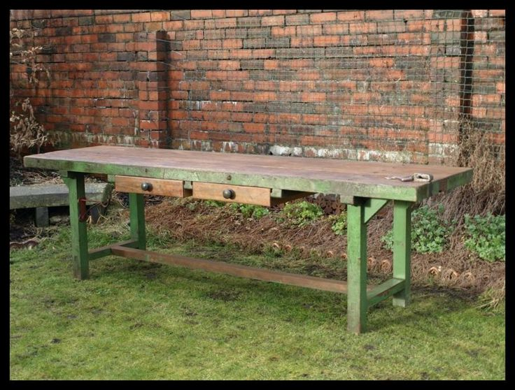 Reclaimed Gamekeepers Table For The Kitchen Pinterest Industrial Furniture And