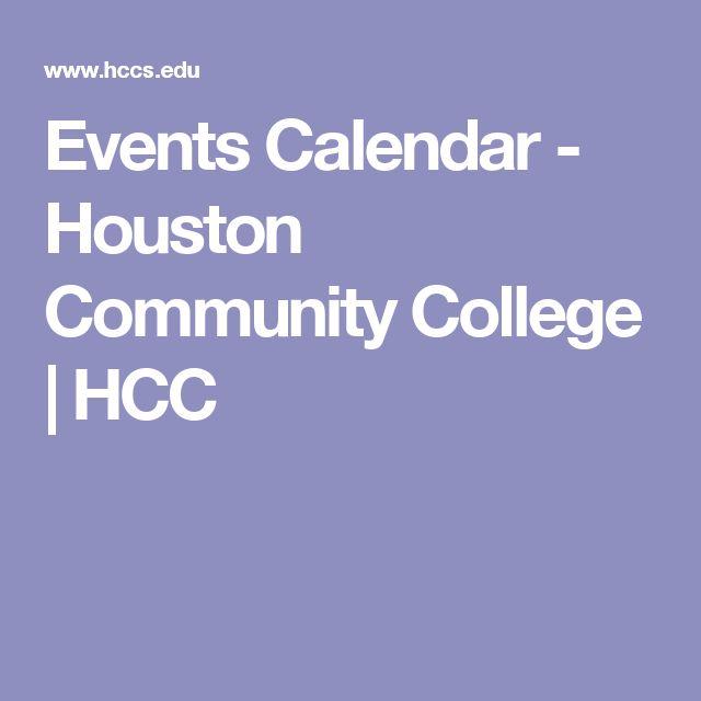 Events Calendar - Houston Community College   HCC