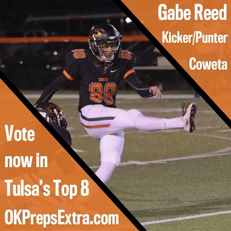 "7 Likes, 1 Comments - OK Preps Extra (@okprepsextra) on Instagram: ""Is Coweta's Gabe Reed in Tulsa's #Top8? Vote now (link in bio). . . . #okpreps #OklahomaFootball…"""