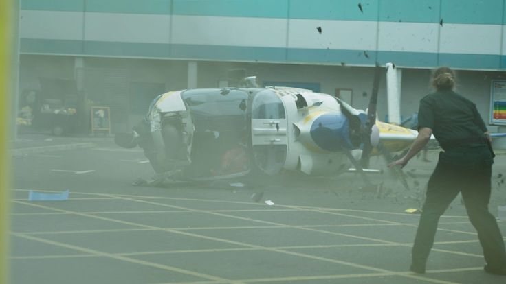 Casualty Thirtieth Anniversary Helicopter Crash- Series 31,  Too Old for This Shift