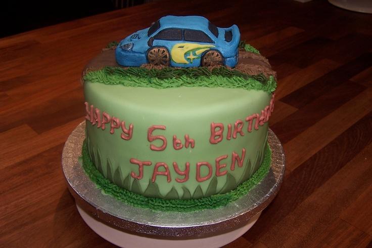 Subaru Rally Car Racing Birthday Cake My Rally Passions