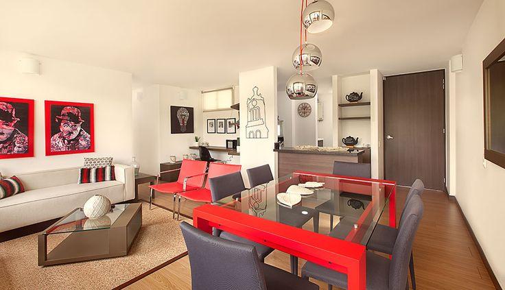 Fotos Ambientes Visuales S.A.S. para BALI - Proyecto de apartamentos en Bogotá