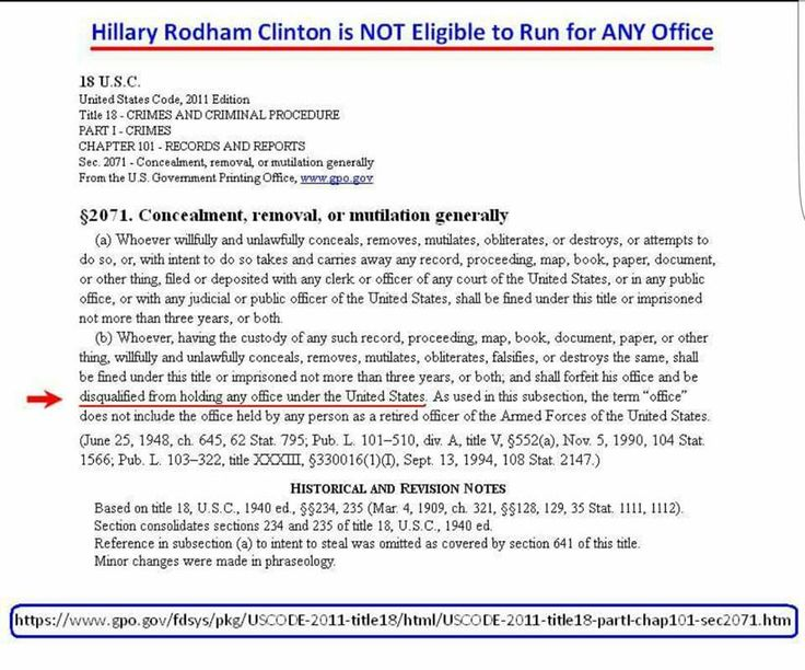 HILLARY CLINTON IS LEGALLY u201cDISQUALIFIED FROM HOLDING ANY OFFICE - survey cover letter