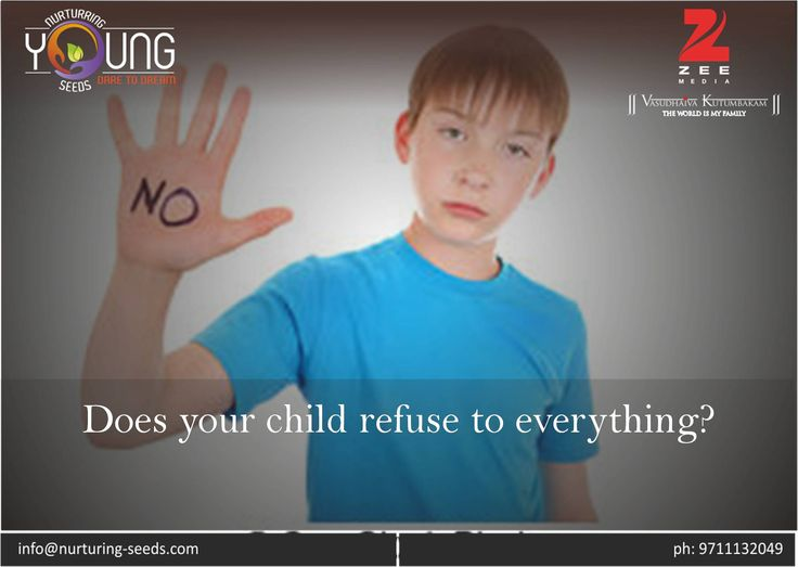Does your child refuse to everything? Nowadays, most of the #children are engaging in their own zones, their own limitations. They just don't let themselves open up to new things. According to most parents, their child is just refusing for.... Read more at: http://bit.ly/2hvu3hq
