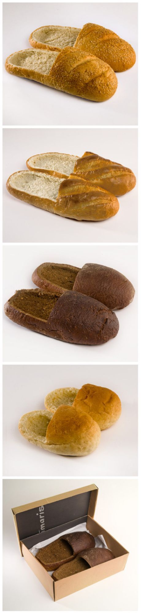 Slippers bread