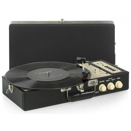 RICATECH Gramofon RTT98 Black