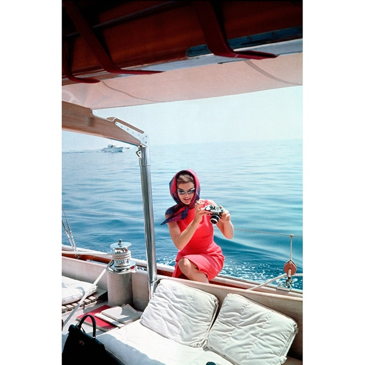 Jacqueline Kennedy with SLR