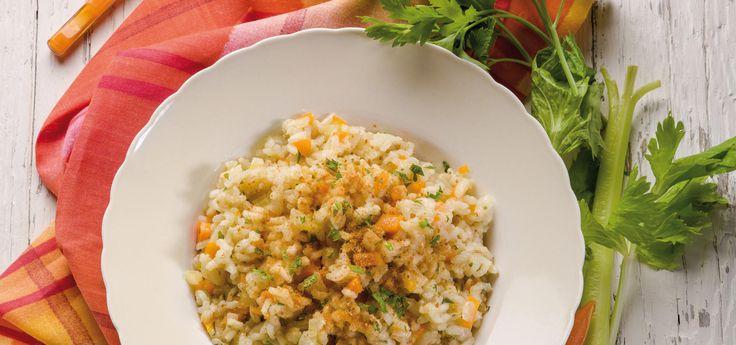 Risotto de zanahoria