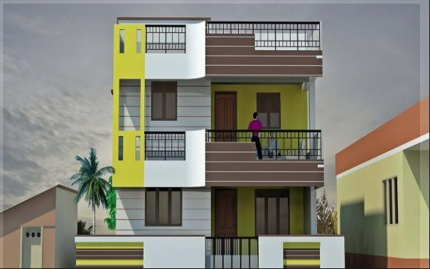 Balcony Design For Small House Best Small House Designs House Balcony Design Village House Design