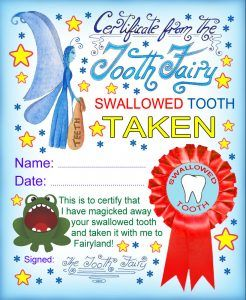 Swallowed Tooth Taken                                                       …