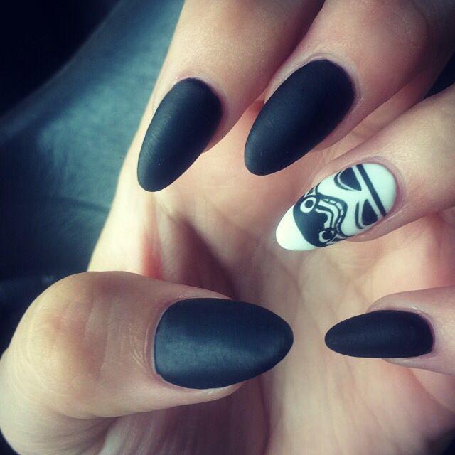 Kami Kelley's Star Wars nails!! Storm trooper! #stormtrooper #starwars # nails - Více Než 25 Nejlepších Nápadů Na Pinterestu Na Téma Star Wars