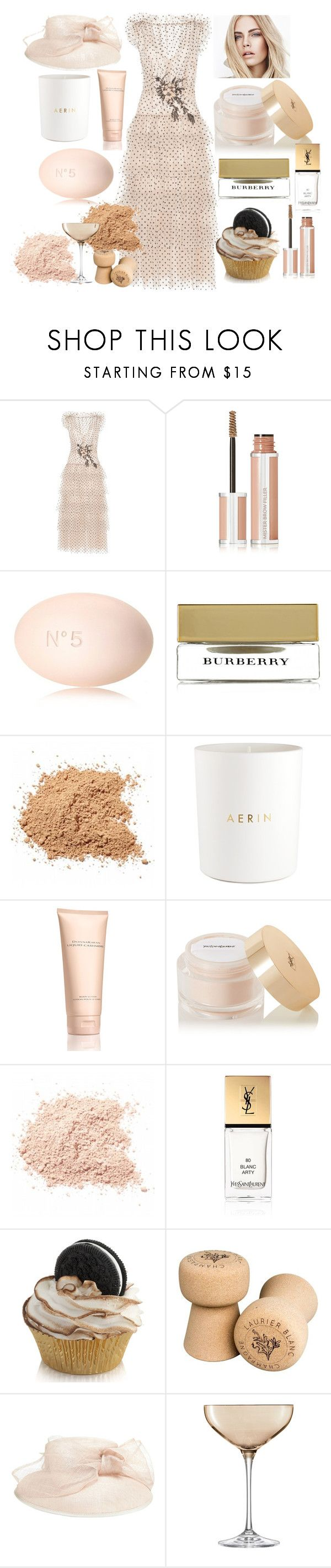 """pure PASTEL"" by mara-wink ❤ liked on Polyvore featuring Rodarte, Givenchy, Chanel, Burberry, Estée Lauder, Donna Karan, Yves Saint Laurent and LSA International"