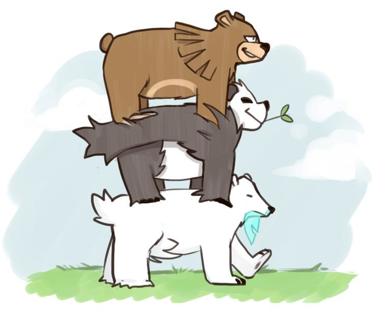 We Bare Bears Pokemon Style Fandom Pinterest