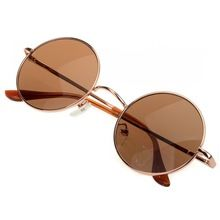 Óculos de sol do Vintage Unisex Hippie Shades Hippy 60 S John Lennon estilo rodada Sunglasses moda mulheres homens óculos de sol Drop frete(China (Mainland))