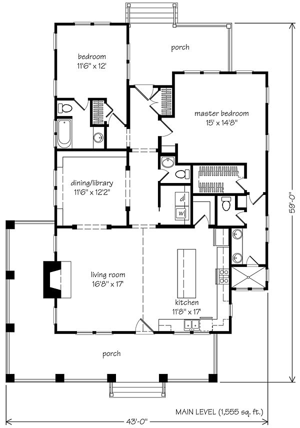 955 best images about tiny house on pinterest for Small southern house plans