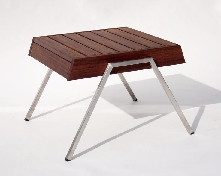 Modern Side Table In Rosewood   U0027Decksteru0027.