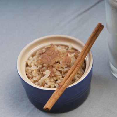 Mis Recetas Fitness: Delicioso y Saludable Pudín de arroz integral