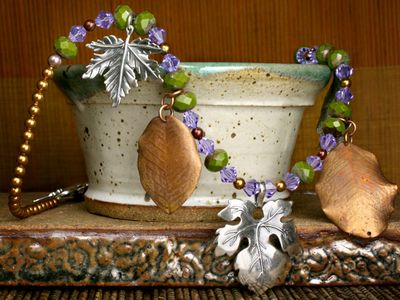 Jewelry Making Designs - Harvest Splendor Necklace