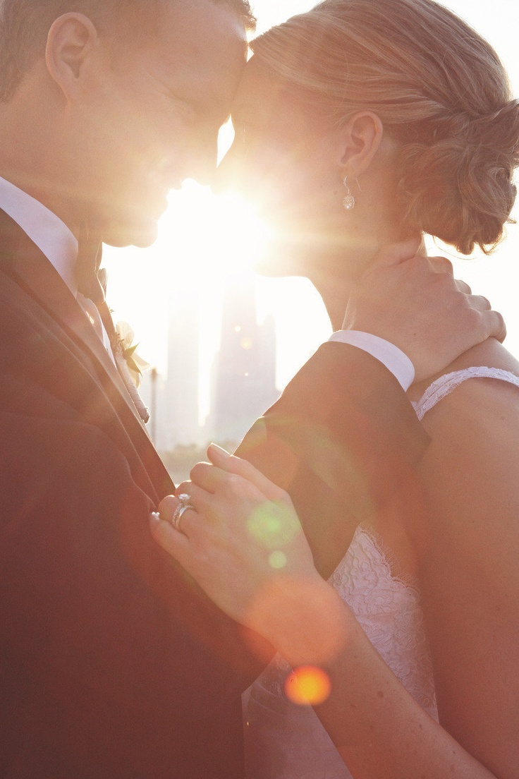 Sunlit love #Chicago #wedding Photography By / http://Imagination Photography