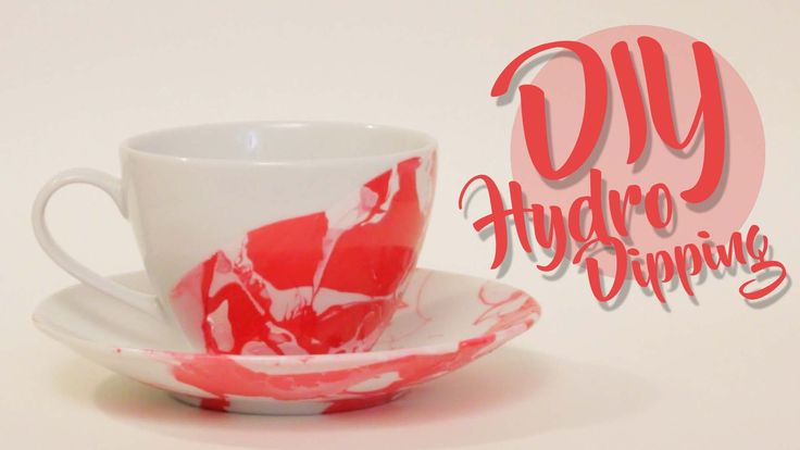 Learn How To Hydro Dip Ceramic Cups Using Nail Polish Diy Crafts Pinterest Ceramic Cups