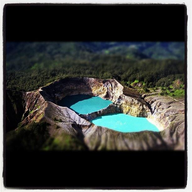 Mt. Kelimutu, Flores by rizaajeh15, via Flickr