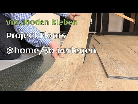 Project Floors Vinylboden kleben floors@home/30 - YouTube
