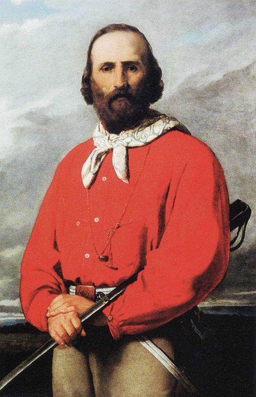 Silvestro Lega (1826-1895) - Ritratto di Giuseppe Garibaldi - 1861