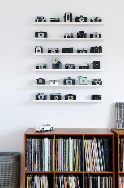 inspiration - deco - appareil photo - vintage