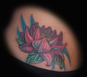 20 Water Lilies Tattoos For Guys Ideas And Designs