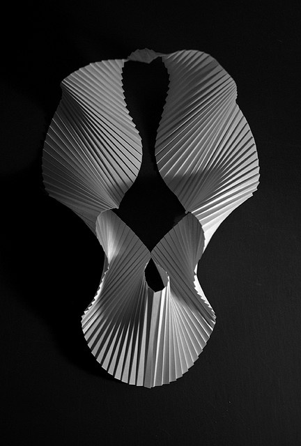 Richard Sweeney, pleated paper