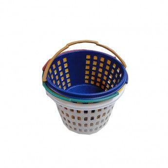 Καλαθάκι πλαστικό για μανταλάκια 21 εκ. σε διάφορα χρώματα 0,80 €-Ευρω