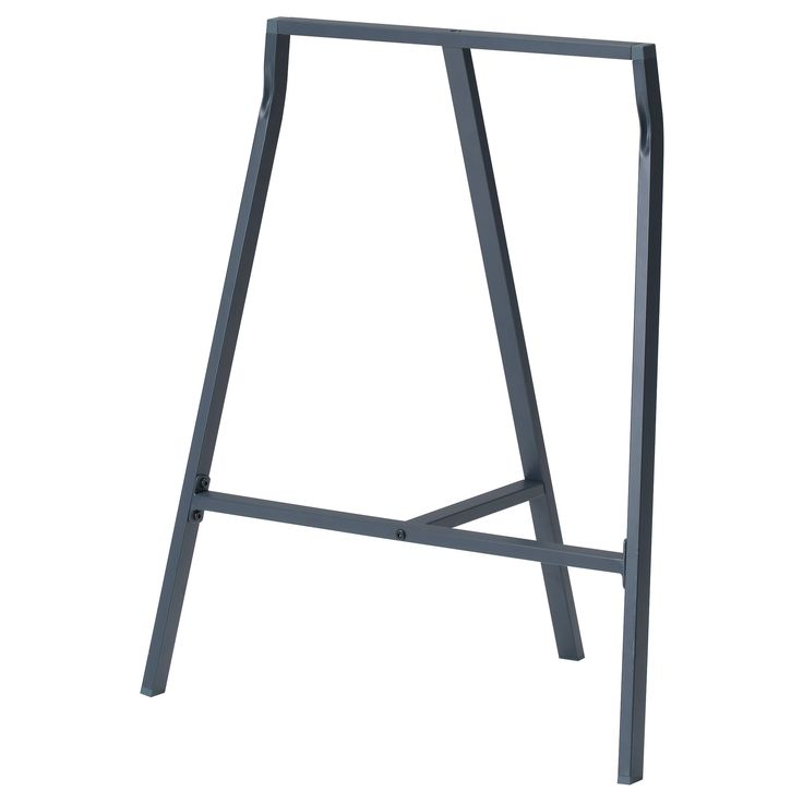 If I can't find old rustic wood tables, what about creating tables from old doors with legs like these: VIKA LERBERG Trestle, gray $10.00