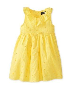 60% OFF A.B.S. by Allen Schwartz Girl's 2-6X Ruffle Eyelet Sundress (Yellow)