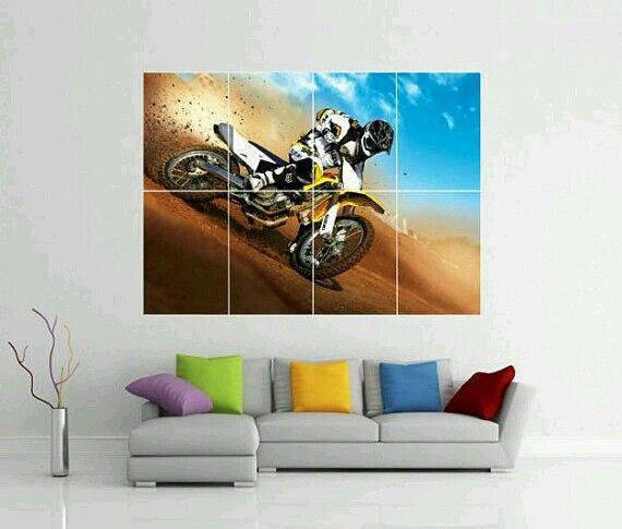 Large Dirt Bike