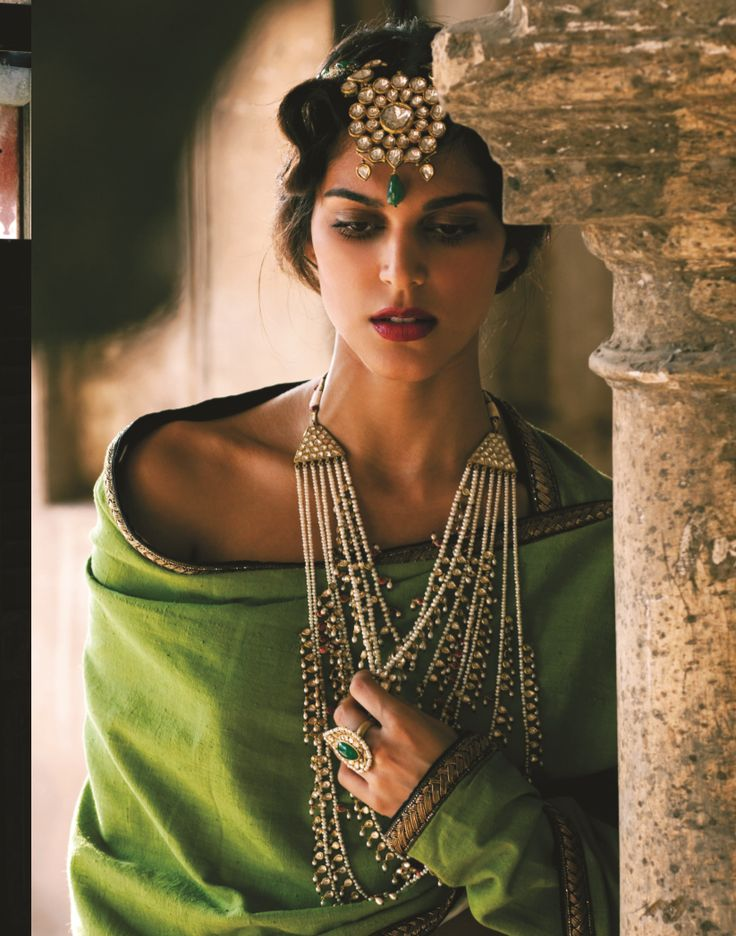 Tale of Four Cities.  Bazaar Bride Jewels March `14