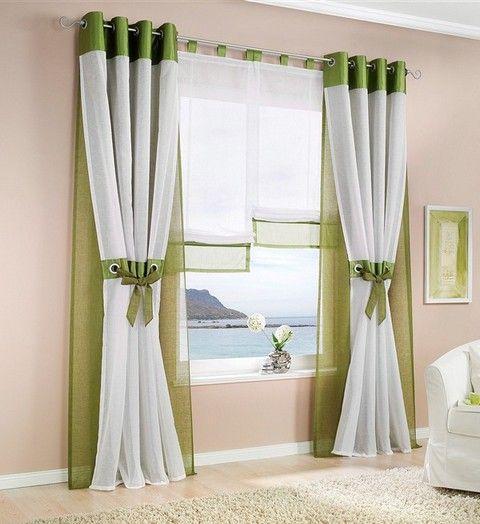34 best gaRdines images on Pinterest Blinds, Sheet curtains and - gardinen wohnzimmer grun