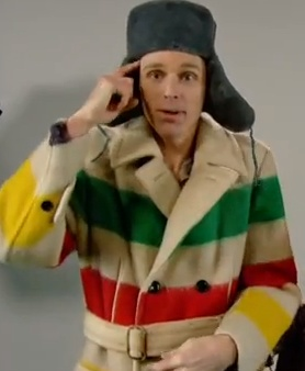 Canadiana at it's most coolest: Joel Plaskett in Hudson's Bay Company. What a hoser.