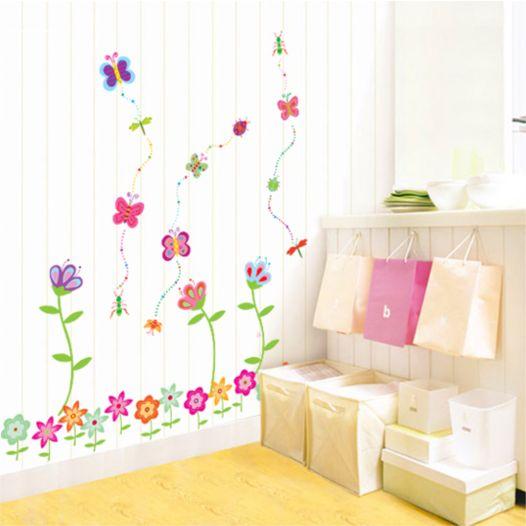 Hemdekor - Väggdekor Klättrande Blommor