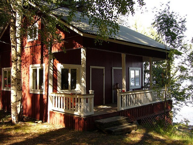 Lovely mökki (ie summer cottage)
