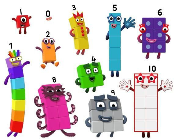 Numberblocks Stickers, Glossy Vinyl, 8 x 5.5-in, Characters 0 - 1,000,000,  Blockzilla and Big Tum! Outdoor Quality Available! | Block birthday, Body  stickers, Printed magnets