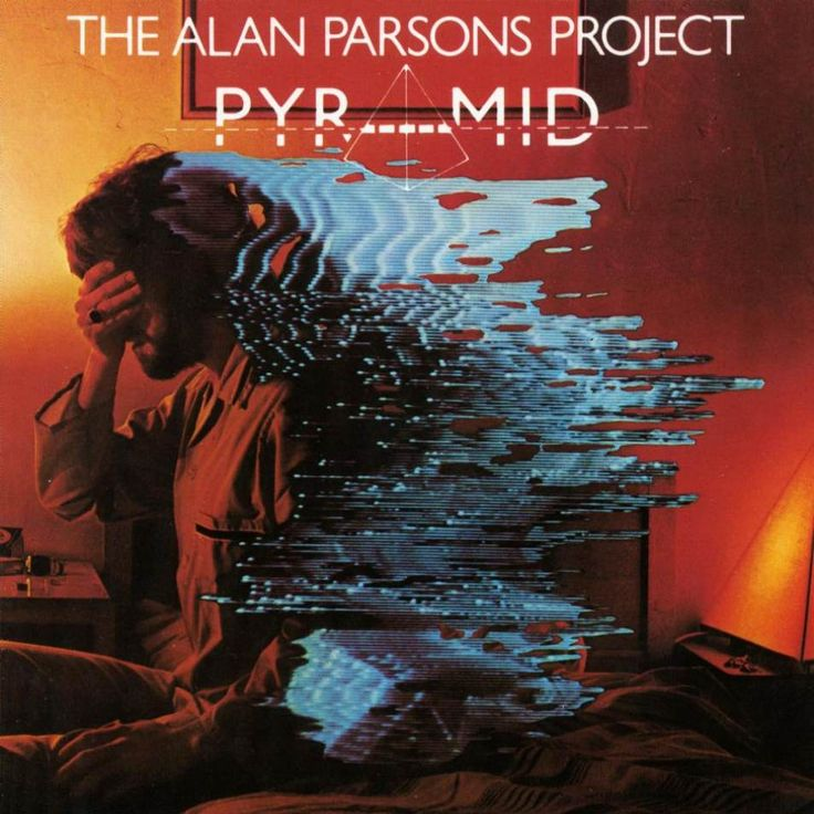 "inspirarch:  Fantastic record sleeve for The Alan Parsons Project album 'Pyramid'  The Alan Parsons Project - ""Pyramid"" 1978"