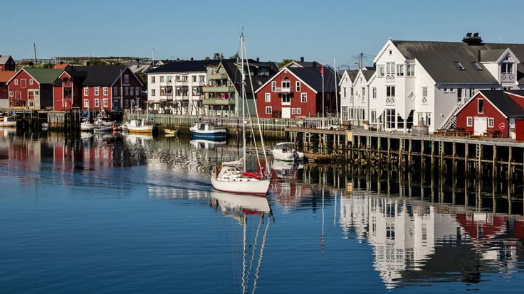 Sunny Henningsvaer by Pietro Consigliere