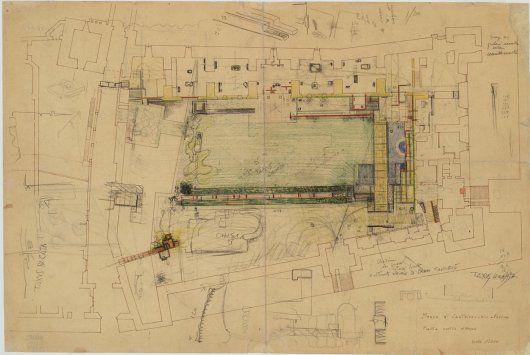 Planimetria generale del piano terra del museo